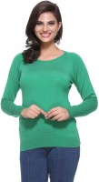 Madrona Solid Round Neck Casual Women's Sweater - SWTEY8SAYGCJHWFK