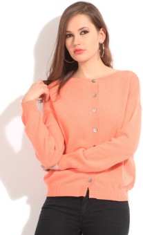 United Colors of Benetton Solid Round Neck Casual Women Sweater