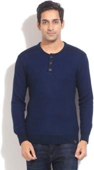 Proline Solid Casual Men's Sweater