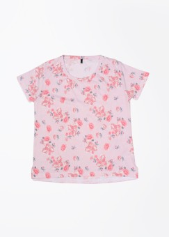 United Colors Of Benetton Floral Print Round Neck Casual Women's Sweater