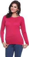 Madrona Solid Round Neck Casual Women's Sweater - SWTEY8SASUAAFTDR