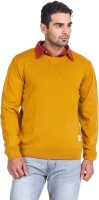 Zovi Solid Round Neck Casual Men's Sweater - SWTEYW4FCVFTKMXF