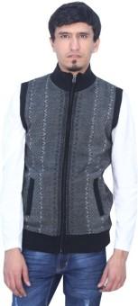 Romano Striped Scoop Neck Casual Men's Sweater