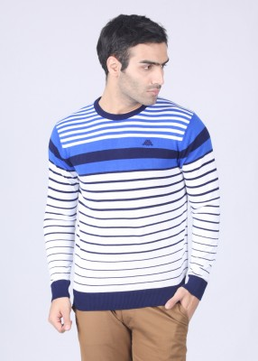 Kappa Striped Round Neck Casual Men's Sweater