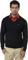 Arrow Solid V-neck Formal Men's Sweater - SWTEFGDUFFGNEKQ3