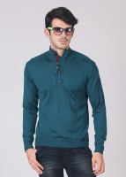 Indian Terrain Solid Turtle Neck Casual Men's Sweater - SWTDZPJABEH86XPD