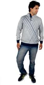 Alpine Enterprises Solid Round Neck Men's Sweater