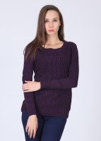 Jealous 21 Solid Round Neck Casual Women's Sweater