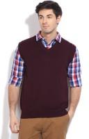 Indian Terrain Solid V-neck Casual Men's Sweater - SWTDZZHQVXGNE2PH