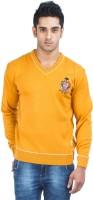 Zovi Solid Round Neck Casual Men's Sweater - SWTE2ZMQ5KUTHFQK
