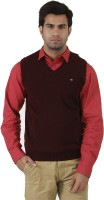 Arrow Solid V-neck Formal Men's Sweater - SWTEFGDUFQWY4UYF