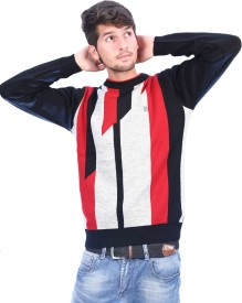 Bhagwan Knitwears Self Design Round Neck Men's Sweater