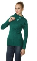 Miss Grace Solid Round Neck Casual Women's Sweater