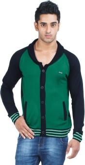Zovi Solid Round Neck Casual Men's Sweater - SWTEBJJ87HGATCQW
