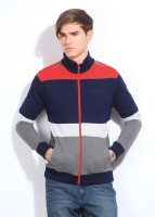 Van Heusen Sport Striped Round Neck Casual Men's Sweater
