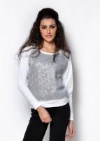 Fashley London Full Sleeve Solid Women's Sweatshirt