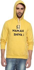 Campus Sutra Full Sleeve Printed Men's Reversible Sweatshirt