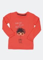 Palm Tree Full Sleeve Printed Girl's Sweatshirt