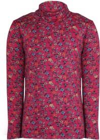 Bio Kid Full Sleeve Printed Girl's Sweatshirt