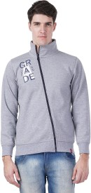 Wake Up Competition Full Sleeve Solid Men's Sweatshirt