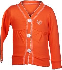 Gkidz Full Sleeve Solid Boy's Sweatshirt