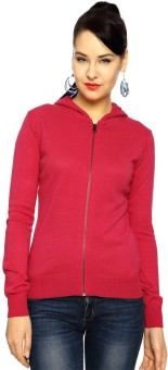 Honey By Pantaloons Full Sleeve Solid Women's Sweatshirt