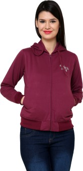 Cayman Autumn Winter Full Sleeve Solid Women's Sweatshirt - SWSE3QGKQ7QES26W