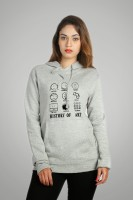 Campus Sutra Full Sleeve Printed Women's Sweatshirt