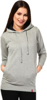 Wake Up Competition Full Sleeve Solid Women's Sweatshirt - SWSE2H6YW7HRHZGY