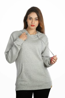 Campus Sutra Full Sleeve Solid Women's Sweatshirt: Sweatshirt