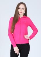 Wrangler Full Sleeve Solid Women's Sweatshirt