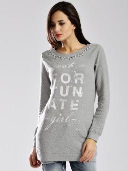 Gas Full Sleeve Printed Women's Sweatshirt