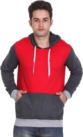LUCfashion Full Sleeve Solid Men's Sweatshirt