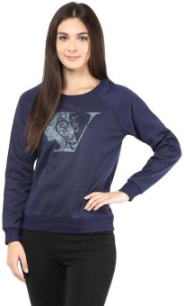 The Vanca Full Sleeve Printed Women's Sweatshirt - SWSEDMVAZEPZBZMF
