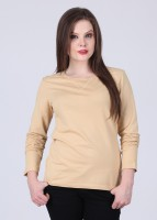 Alibi Full Sleeve Solid Women's Sweatshirt