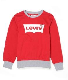 Levis Kids Full Sleeve Graphic Print Boy's Sweatshirt
