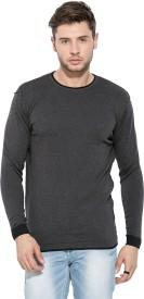 Mufti Full Sleeve Solid Men's Sweatshirt