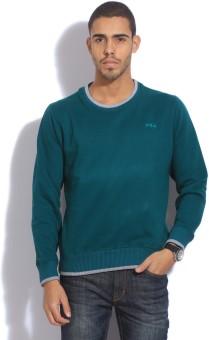 Fila Full Sleeve Solid Men's Sweatshirt - SWSEB88UEFK4WNRM