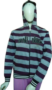 Miraaya Full Sleeve Striped Men's, Women's Sweatshirt