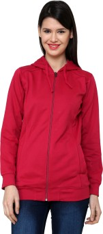 Cayman Autumn Winter Full Sleeve Solid Women's Sweatshirt - SWSE3RH7R2KUJGRR
