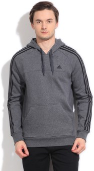Adidas Full Sleeve Solid Men's Sweatshirt - SWSE25KFFTZYJSHH