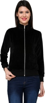 Cayman Autumn Winter Full Sleeve Solid Women's Sweatshirt - SWSE3QGHSQ8CHSKS
