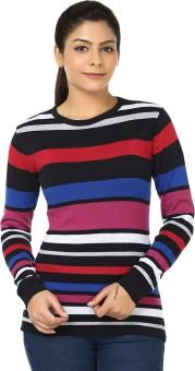 Black Sheep Full Sleeve Woven Women's Sweatshirt