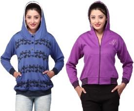 Thinline Warm And Trendy Full Sleeve Printed Women's Sweatshirt