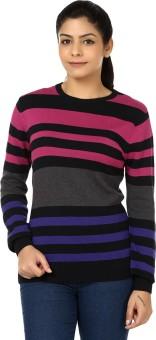 Black Sheep Full Sleeve Woven Women's Sweatshirt - SWSEADCDZGYEVND9