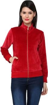 Cayman Autumn Winter Full Sleeve Solid Women's Sweatshirt - SWSE3QGKWFFWMNA2