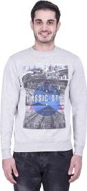 Austin Wood Full Sleeve Printed Men's Sweatshirt