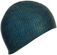 Nabaiji Silicone M Green Swimming Cap (Green, Pack Of 1)