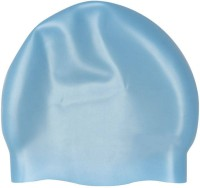 Syndicate Best Quality Silicon Sky Blue Swimming Cap (Blue, Pack Of 1)