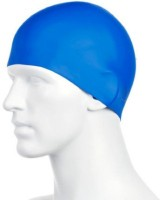 Mor Sporting Super Silicon - Assorted Colours Swimming Cap (Multicolor, Pack Of 1)